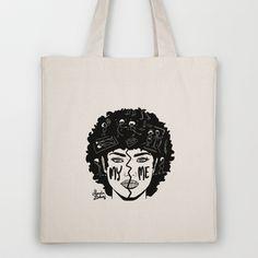 me/my Tote Bag by Magda Danaj - $18.00 Thats Not My, Reusable Tote Bags, Stuff To Buy