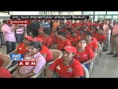 Ram Charan visits KFC's blood donation camp at Hyderabad