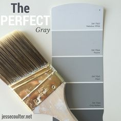 Jesse Coulter: The PERFECT Shade of Gray Paint.   http://www.jessecoulter.net/2015/04/the-perfect-shade-of-gray-paint.html