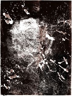 """Saatchi Art Artist: Joon Lee; Monotype 2011 Printmaking """"Lost Portrait"""""""