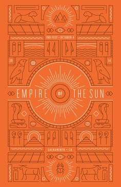 Empire of the Sun Poster — Designspiration