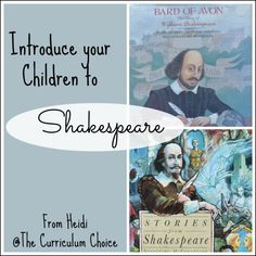 Do you hesitate to introduce Shakespeare's plays because you think your children aren't old enough?  Do you think it would be too confusing, or that they might form an early dislike of the world's most famous plays? Let me encourage you to give it a try!  My eight-year-old son and eleven-year-old