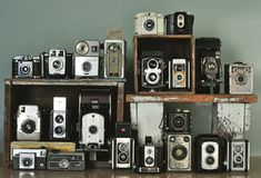 Camera collection...
