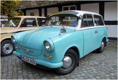 автомобиль легенда Trabant
