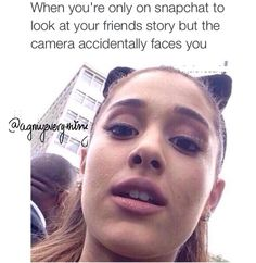Lol she's still pretty Ariana Grande Meme, Ariana Grande Dangerous, Ariana Grande Photos, Dangerous Woman, She Song, Can't Stop Laughing, Her Music, My Princess, Funny Moments