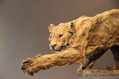 sculptures Patrick Villas Jaguar