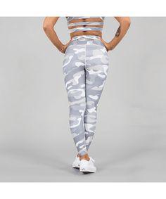 Versa Forma Camo Leggings White Edition-Versa Forma-Gym Wear