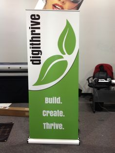 Retractable Banners are perfect for Trade shows, showrooms or display in your office!  www.SpeedproSilverSpring.com