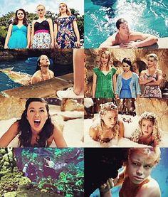 Mako mermaids collage.
