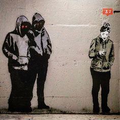 """Two new followers by @iheartstencils. www.UpFade.com"" Photo taken by @streetartglobe on Instagram, pinned via the InstaPin iOS App! http://www.instapinapp.com (07/12/2015)"