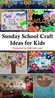 Easy Sunday School Craft Ideas for Kids - Craft New Year's Crafts, Arts And Crafts, Paper Crafts, Make School, Sunday School Crafts, Easy Easter Crafts, Easy Crafts, Drawing For Kids, Painting For Kids