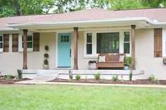 Exterior ranch update..,paint colors, shutters, window boxes