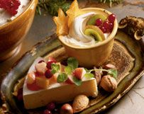Wisconsin Mascarpone Maple Mousse With Winter Fruit Compote | Wisconsin Milk Marketing Board