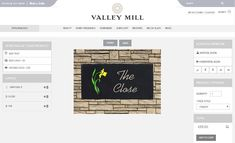 We've been busy helping customers to design their perfect house sign yesterday, and it couldn't be easier!  Whether you order in store or online, our online design feature means that you can design and preview your house sign before ordering.  Add text and motifs and change the font, colour and edging to create a sign to suit any home.  www.valleymill.co.uk/personalised/house-signs/