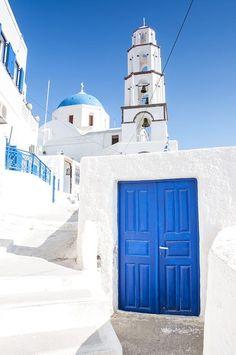 #Pyrgos village in #Santorini, #Greece village in #Santorini, #Greece