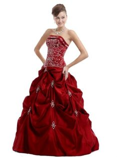 Buy Red Wedding Dresses and Gowns on a Budget and Save