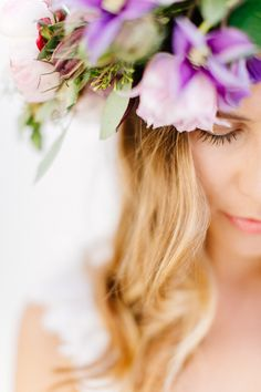 Styled Shoot for Hochzeitsguide | Florence | Italy  ph carmen & Ingo make up & Hair Giulia Cresci flower crown La Rosa canina wp Chic Wedding