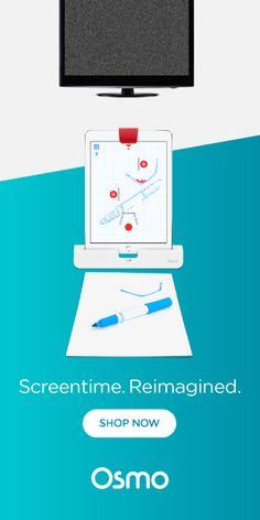 Say goodbye to screen-zombies: Screentime is no longer a bad word with Osmo! Kids and adults alike can play together, outside the screen.  Learn more at playosmo.com