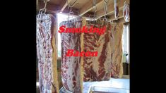 After butchering our pigs on our homestead, we make bacon from the pork bellies and this is how I cold smoke them. Here's a link the the full process of the . How To Make Bacon, Smokehouse, Pork Belly, Smoking, Cold, Make It Yourself, Tobacco Smoking, Vaping, Smoke