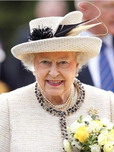 Queen Elizabeth, May 6, 2014 in Angela Kelly | Royal Hats