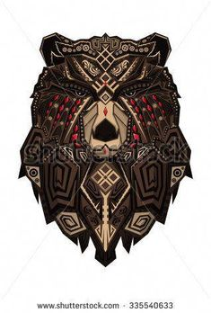 bear - buy this illustration on Shutterstock & find other images. bear – buy this illustration on Shutterstock & find other images. bear – buy this illustration on Shutterstock & find other images. Hai Tattoos, Symbol Tattoos, Celtic Tattoos, Viking Tattoos, Body Art Tattoos, Tattoos For Guys, Dragon Tattoos, Tribal Bear Tattoo, Tribal Scorpion Tattoo