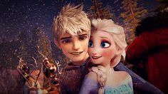 Jack and Elsa moment by celia-yuki on DeviantArt