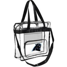 Carolina Panthers NFL Clear High End Messenger Bag