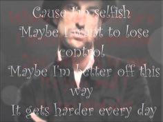 Lyrics of Selfish by Daniel Powter Selfish, Lyrics, Day, Movies, Movie Posters, Film Poster, Films, Popcorn Posters, Song Lyrics