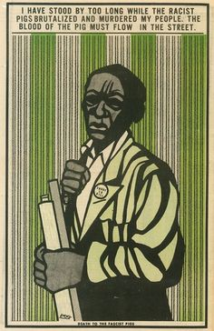 """Black Panther: The revolutionary art of Emory Douglas   """"Death to the fascist pigs""""   Dangerous Minds"""