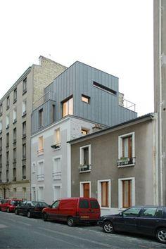 SURELEVATION, Paris, Hardel et Le Bihan architectes - Realisation