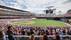 Twins season just started   Great shot of Target Field in Minneapolis, MN