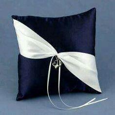 Anchors Away Ring Bearer Pillow - Photo Chanel lipstick Giveaway Ring Bearer Pillows, Ring Pillows, Throw Pillows, Wedding Pillows, Ring Pillow Wedding, Wedding Ring, Wedding Hair, Bridal Hair, Pillow Crafts