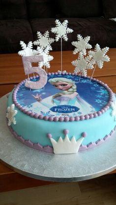 Frozen-eiskönigin elsa torte