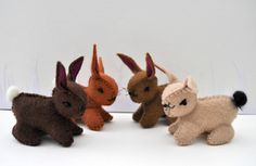 Easter bunny gifts by Fleur on Etsy