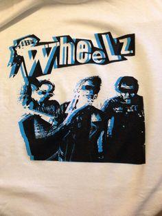 The Wheelz White Punk Shirt