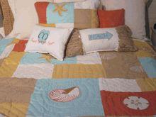 European young teen girls bed