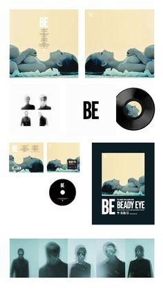 beady eye 'be' album campaign - photography by harri peccinotti & nick griffiths, 2013 - interview with designer and music producer trevor jackson