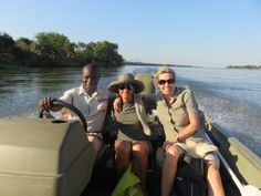 "On the Zambezi River at Mvuu Lodge. ""... very best campsite we have had the pleasure of staying in. It for sure rates 20 out of 10!"" Megan Vass"