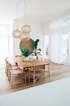 6 Aligned Cool Ideas: Natural Home Decor Inspiration Living Rooms natural home decor ideas pictures.Natural Home Decor Inspiration natural home decor boho chic bohemian.Natural Home Decor Ideas Grey Walls. Dining Room Inspiration, Home Decor Inspiration, Design Inspiration, Furniture Inspiration, Natural Home Decor, Cool Ideas, 31 Ideas, Dining Room Design, Beach Dining Room