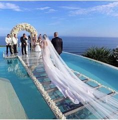 Pool Wedding Ideas backyard weddingive always wanted to get married in a backyard Tammyokhiria Wedding Aisleswedding Venueswedding Locationsweddingideassummer Weddingpool Weddingmaldives