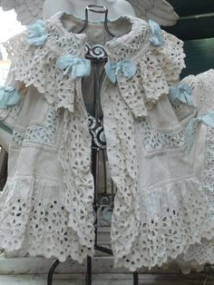 ~~~ White Three Piece French Darling Pique Costume ~~~ from whendreamscometrue on Ruby Lane