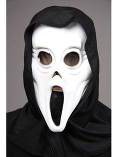 """https://11ter11ter.de/8981782.html Weichplastikmaske """"Phantom"""" mit Kapuze für Kinder #11ter11ter #maske #kinder #fasching #halloween #kostüm #outfit #mask"""