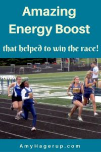 How this energy boost helped my daughter win the race.