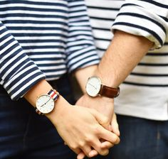 His and hers Daniel Wellington watches -- first 50 to click through gets 15% off…