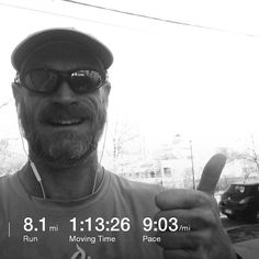What a beautiful Easter morning. So close to a PR on this route. Dang bathroom stop killed that. However the 15 min intervals went well around 8 min pace. The sun shining felt fantastic and the breeze motivated me to keep moving. Excited that during the rest 5 minutes slowed but kept jogging through it. A great start to a great day. Time to go play egg hunt with the kids and eat some home with family. Happy Easter.  #pin #run #running #intervalrun #interval #longrun…