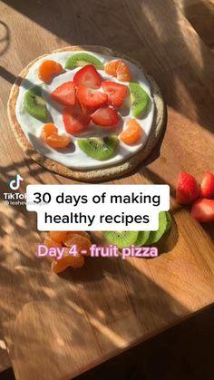 Healthy Breakfast Recipes, Healthy Desserts, Healthy Recipes, Healthy Food, Fun Baking Recipes, Snack Recipes, Cooking Recipes, Food And Drink, Yummy Food