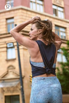Fresh lululemon gear to keep you cool in the city.