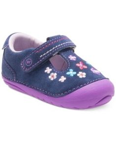 Stride Rite Soft Motion Tonia Shoes, Baby Girls (0-4) & Toddler Girls (4.5-10.5) - Blue 5.5 Toddler