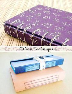 eula sleeps: Book-binding: makes me miss suturing Handmade Journals, Handmade Books, Japanese Binding, Journaling, Bookbinding Tutorial, Budget Book, Craft Day, Bound Book, Cool Books