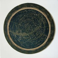 turn of the century star map or celestial calendar constellations. SOLD on ETSY (where so I get another.)